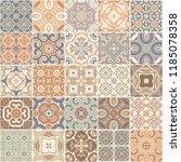 patchwork seamless pattern....   Shutterstock . vector #1185078358