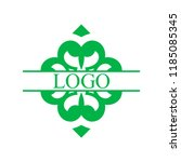 flourishes calligraphic art... | Shutterstock .eps vector #1185085345
