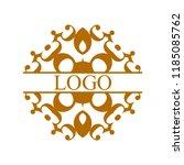 flourishes calligraphic art... | Shutterstock .eps vector #1185085762