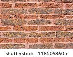 old red brick wall texture and... | Shutterstock . vector #1185098605