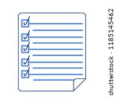 document icon  check list ...