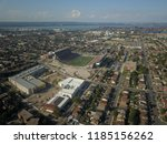 aerial drone image of a large... | Shutterstock . vector #1185156262