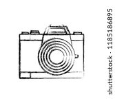 photographic camera icon | Shutterstock .eps vector #1185186895