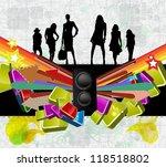 music event illustration.... | Shutterstock . vector #118518802
