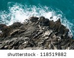 Water  Waves And Rocks