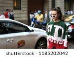 milan  italy   september 21 ... | Shutterstock . vector #1185202042