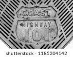 Retro Old Vintage Coast Highwa...