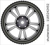 aluminum alloy wheels    Shutterstock .eps vector #1185242452