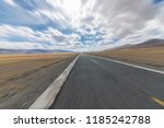 wild field highway  | Shutterstock . vector #1185242788