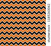 orange and black chevron... | Shutterstock .eps vector #1185263062