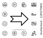 arrow icon. web icons universal ...