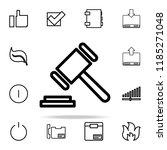 hammer icon. web icons...