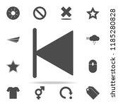 previous icon. web icons...