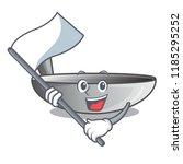 with flag frying pan wok...   Shutterstock .eps vector #1185295252