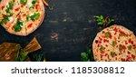 background of italian food....