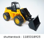 toy industrial vehicle  plastic ... | Shutterstock . vector #1185318925
