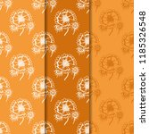 floral seamless pattern with... | Shutterstock .eps vector #1185326548