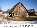 An Old Wooden Shed Which...