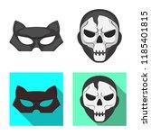 vector illustration of hero and ... | Shutterstock .eps vector #1185401815