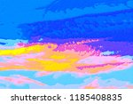 abstract background   colored... | Shutterstock . vector #1185408835