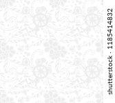 small flowers. seamless pattern ... | Shutterstock .eps vector #1185414832