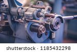 industrial marine engine  | Shutterstock . vector #1185432298