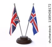 united kingdom and iceland ... | Shutterstock . vector #1185438172