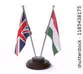 united kingdom and hungary ... | Shutterstock . vector #1185438175