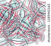 falling geometric figures.... | Shutterstock .eps vector #1185442162