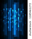 blue overlap pixel speed in... | Shutterstock .eps vector #1185461272