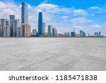 urban skyscrapers with empty... | Shutterstock . vector #1185471838