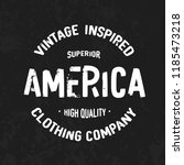 america   original vintage... | Shutterstock .eps vector #1185473218
