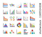 infographic flat icons  | Shutterstock .eps vector #1185524338
