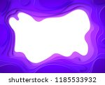 from the paper violet shades... | Shutterstock .eps vector #1185533932