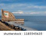 salar de uyuni  bolivia  march...   Shutterstock . vector #1185545635
