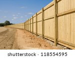 A Long New Fence On New...
