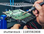 repair of electronic devices ... | Shutterstock . vector #1185582808