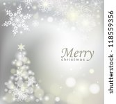 abstract christmas background.... | Shutterstock .eps vector #118559356