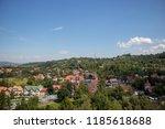 bran  romania   august 15  2018 ... | Shutterstock . vector #1185618688