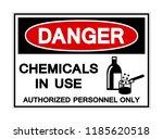 danger chemicals in use symbol... | Shutterstock .eps vector #1185620518