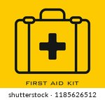 first aid kit icon signs