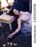 fashion art image   stunning... | Shutterstock . vector #1185626908