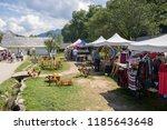 bran  romania   august 15  2018 ... | Shutterstock . vector #1185643648