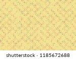 beautiful geometric pattern... | Shutterstock .eps vector #1185672688