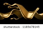 elegant  luxury splash of gold... | Shutterstock . vector #1185678145