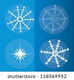 snowflake background vectors | Shutterstock .eps vector #118569952