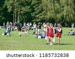 vilnius  lithuania   july 06 ... | Shutterstock . vector #1185732838