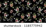 seamless floral pattern in... | Shutterstock .eps vector #1185775942