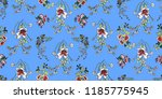 seamless floral pattern in... | Shutterstock .eps vector #1185775945