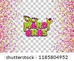 comics text mask isolated.... | Shutterstock .eps vector #1185804952